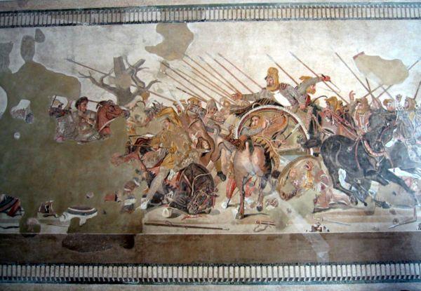 Александр македонский мозаика