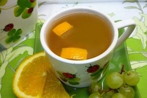 Компот из апельсина и винограда на зиму