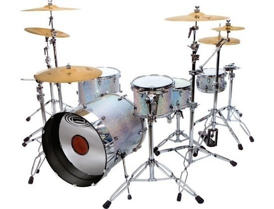 Orange county travis barker drum set