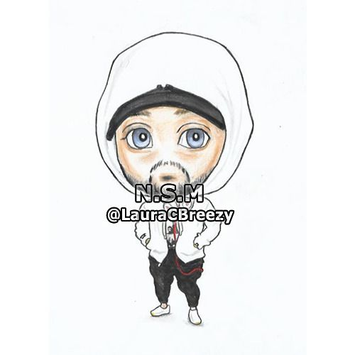 Cartoon drawings of eminem