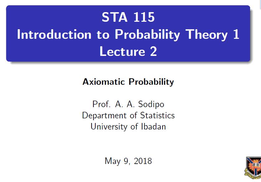 sta115 Lecture2 slide