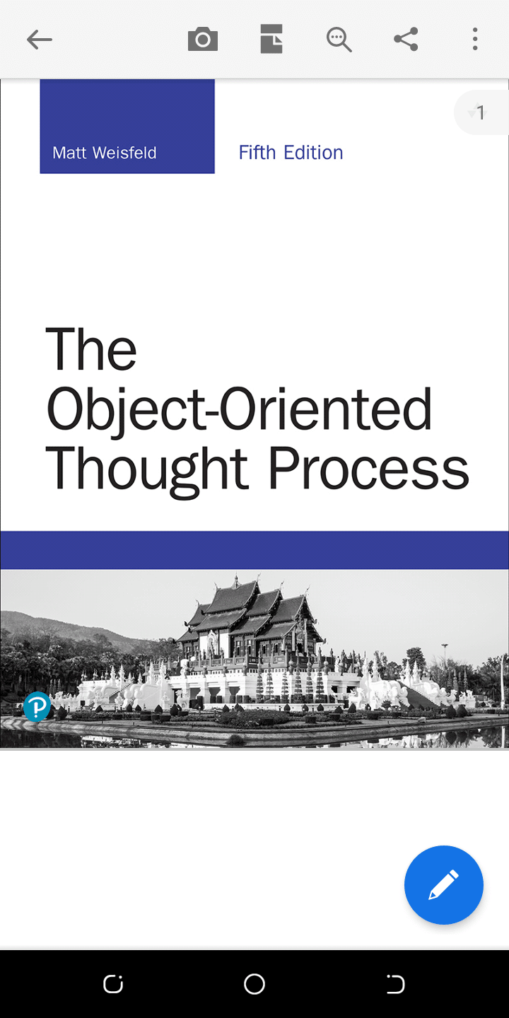 THE OBJECT ORIENTED THOUGHT PROCESS BY MATT WEISFELD