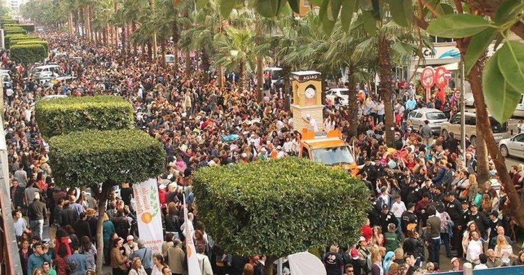 Portakal Çiçeği Karnavalını Kutla