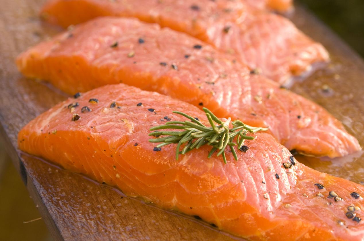 Стейк лосося в фольге в духовке рецепт