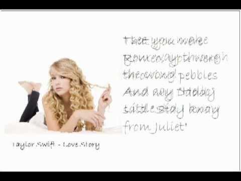 Taylor swift gnomeo and juliet lyrics