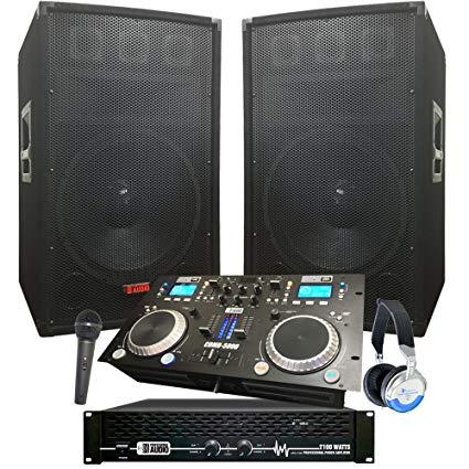 Dj amplifier and speaker packages