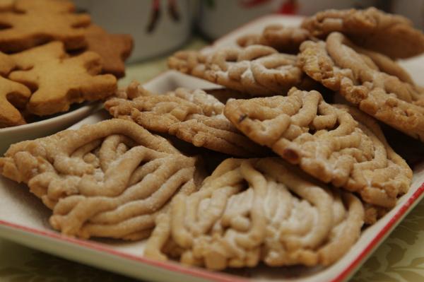 Печенья из мясорубки