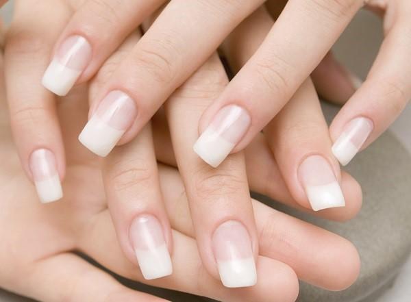 How do you get false nails off at home