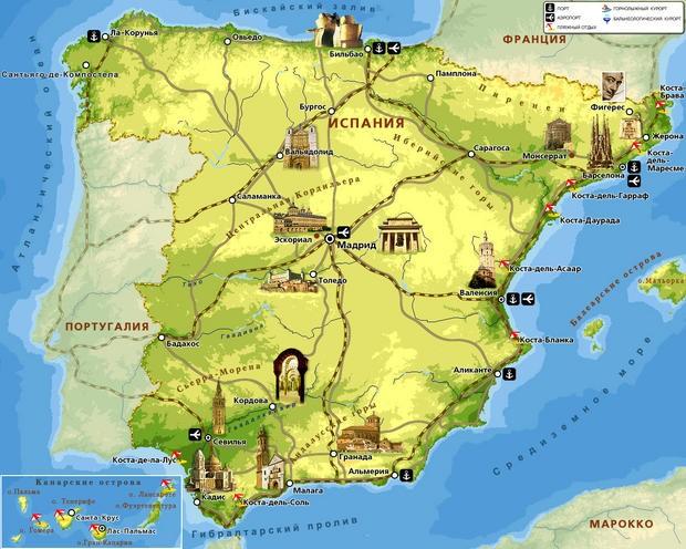 Доклад об испании для 3 класса
