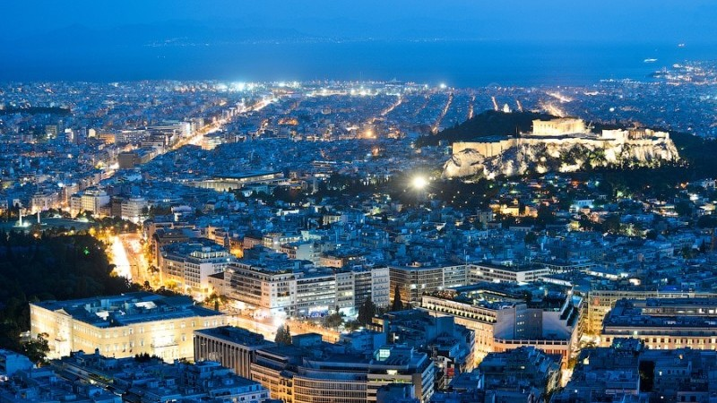 время полета Москва - Афины