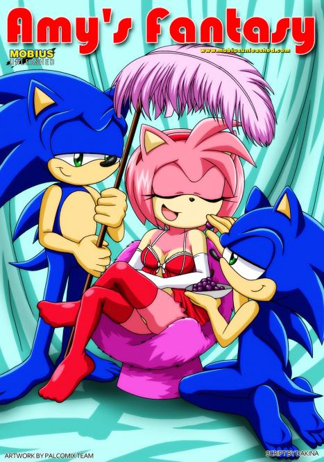 Amy's Fantasy Porn comic Cartoon porn comics on Sonic the Hedgehog