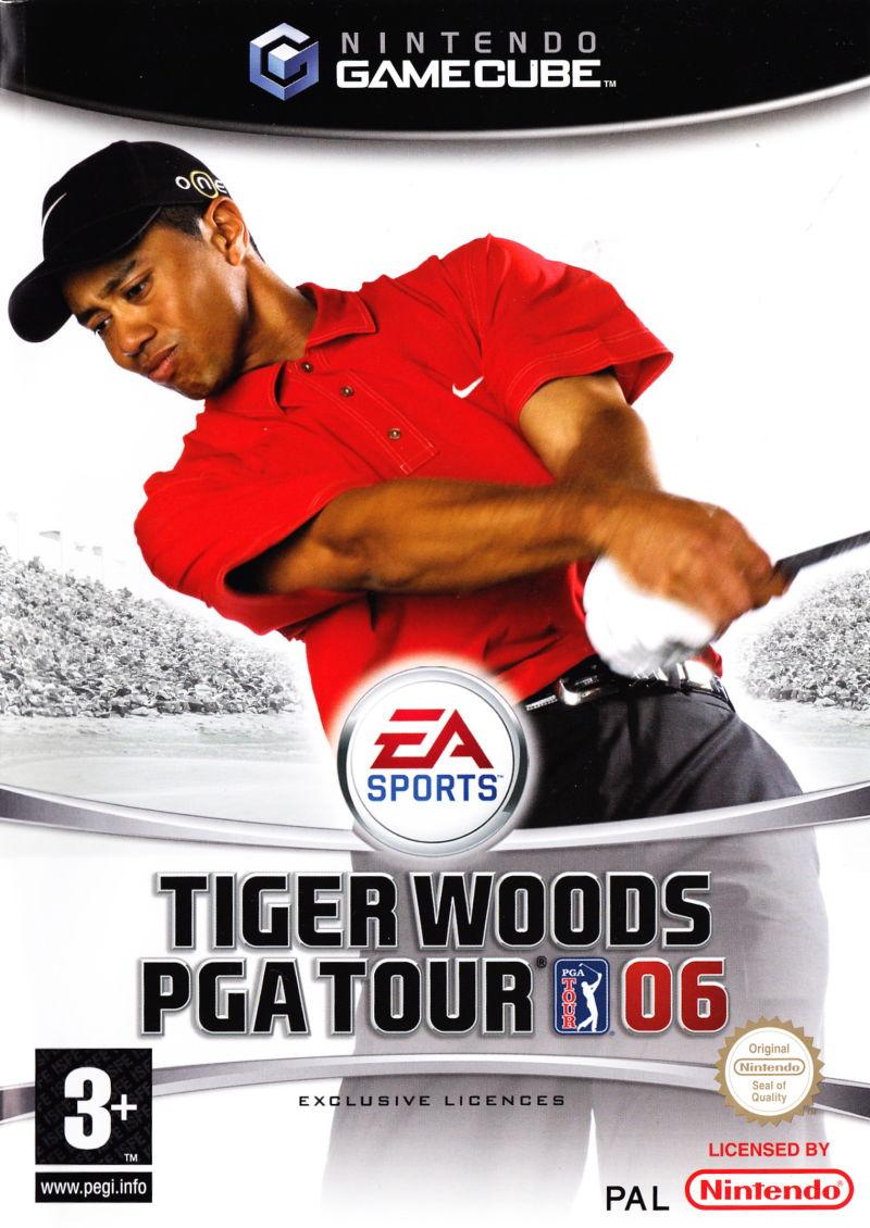 Tiger woods gamecube