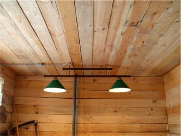 В птичник рекомендуется установить лампы