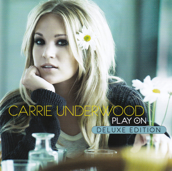 Carrie underwood play on cd cover