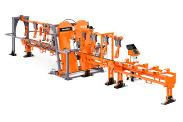 Twin Vertical Saw