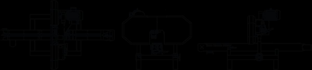 TITAN Hybrid Resaw Line Drawing