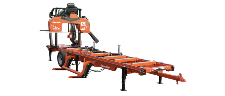 LX450 Twin Rail Hydraulic Portable Sawmill | Wood-Mizer