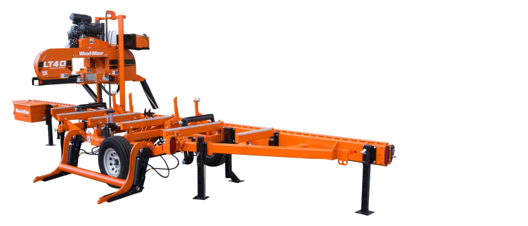 LT40 Hydraulic Portable Sawmill | Wood-Mizer