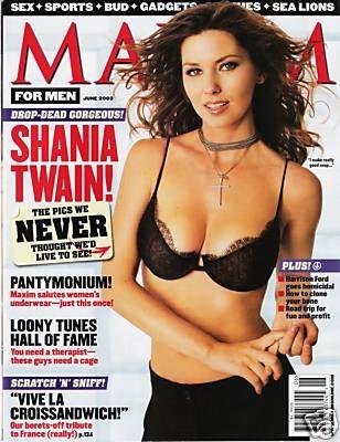 Shania twain in playboy