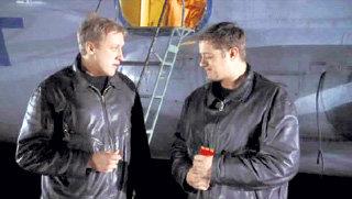 С Алексеем МАКАРОВЫМ в «Офицерах-2»