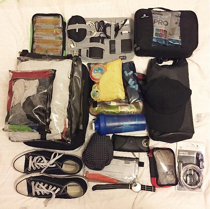 Собрать чемодан список
