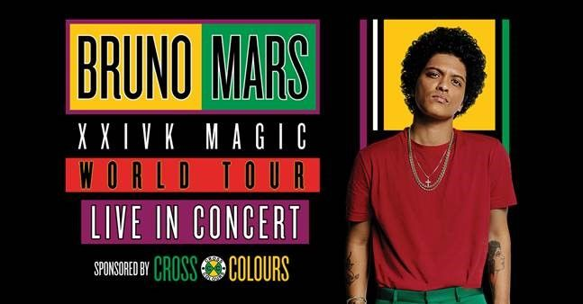 Bruno mars bridgestone arena