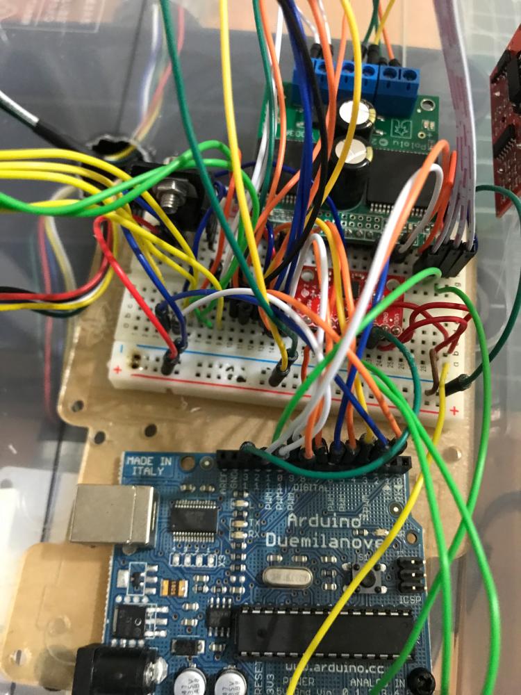Circuit board and Arduino