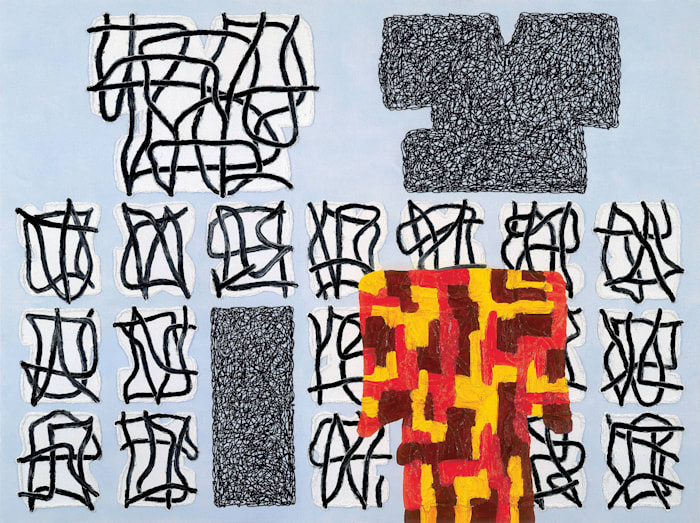 THE DISCONTINUOUS SELF by Jonathan Lasker