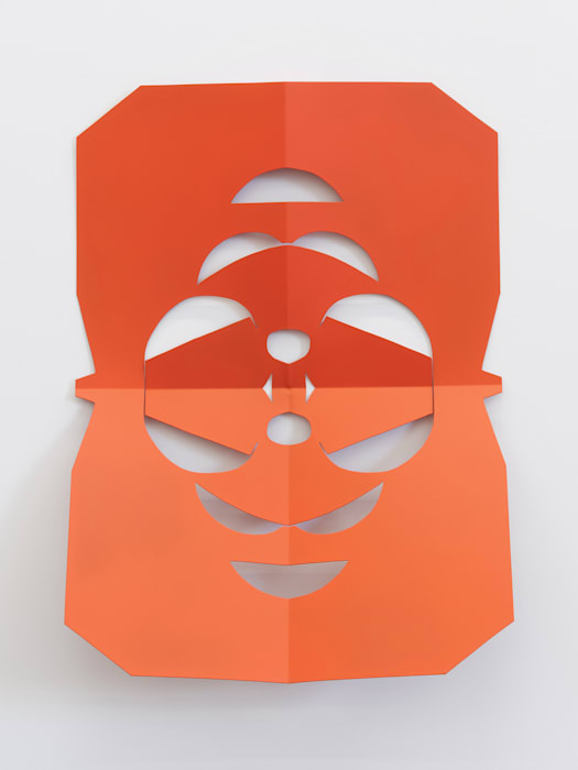 Cutout (Orange Blossom) by Matt Keegan