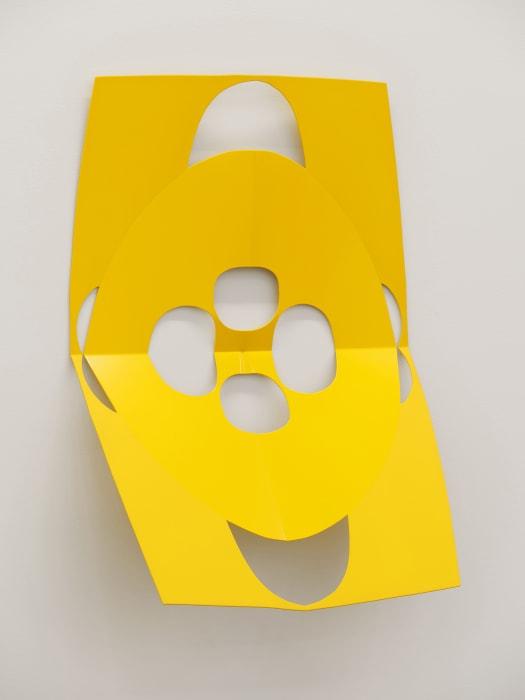 Cutout (Yes Yellow) by Matt Keegan