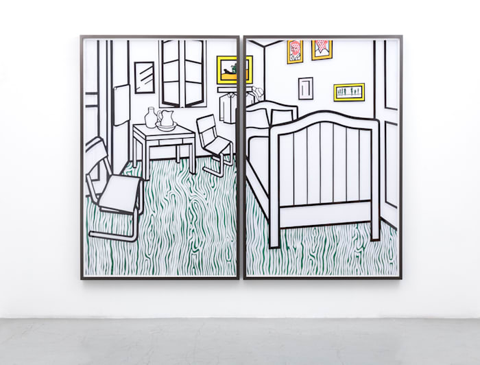 Untitled (Bedroom at Aries) by Jose Dávila