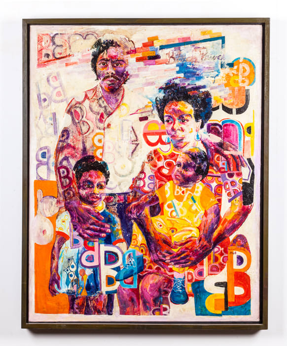 Black Family by Wadsworth Jarrell