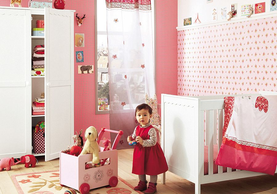 Pink nursery pictures