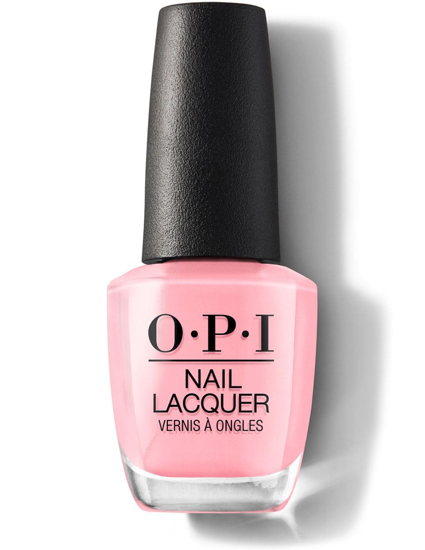 Opi pink sparkle nail polish