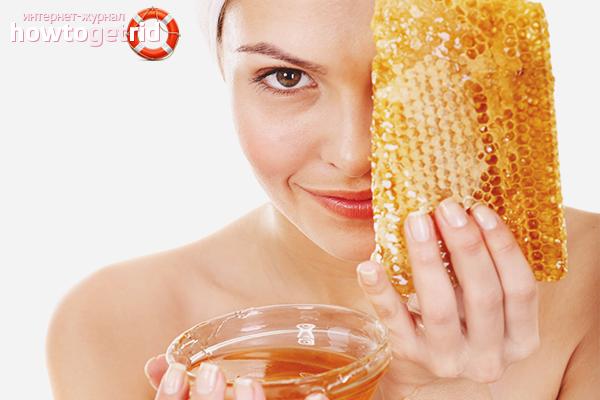Маски с мёдом от расширенных пор