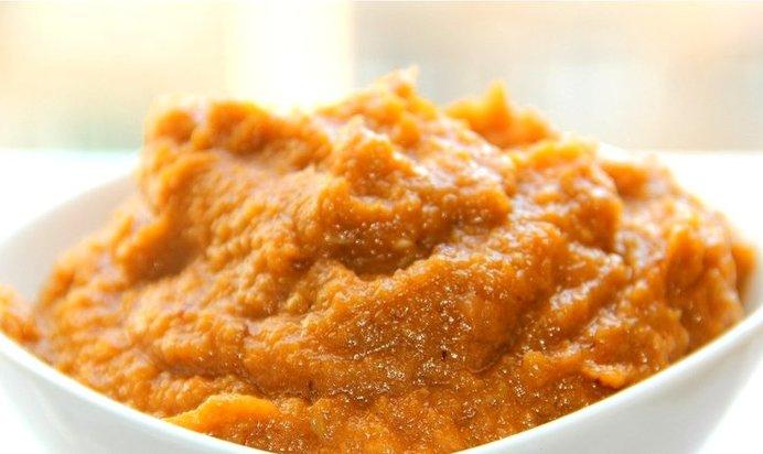 Кабачковая икра с краснодарским соусом