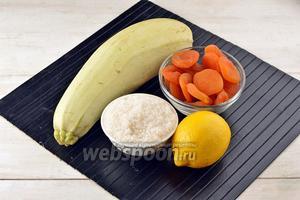 Варенье из кабачков с курагой и лимоном рецепт