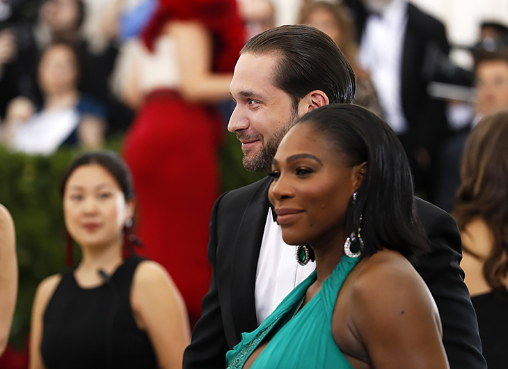 Серена уильямс фото с мужем и