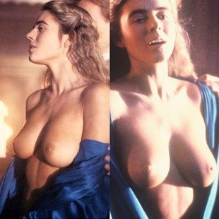 "Elizabeth Hurley Fully Nude Behind-The-Scenes Of ""Aria"""