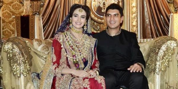 Wedding pictures of pakistani celebrities 2013