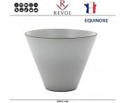 Емкость EQUINOXE для запекания и подачи порционная, D 10.5 см, H 8 см, серый, REVOL, Франция