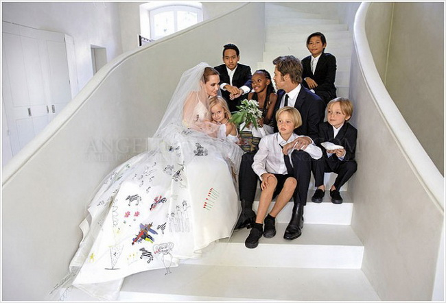 Свадьба джоли питта фото