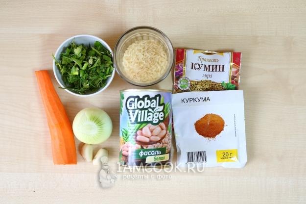 Плов рецепт с фасолью