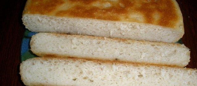 Хлеб быстро на сковороде