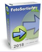 FotoSortierer XL (2018er Version) Fotoverwaltung und Foto Manager zum Fotos sortieren, Fotos umbenennen, doppelte Bilder finden und doppelte Fotos löschen. Bilder sortieren war noch nie so einfach. - 1