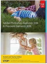 Adobe Photoshop Elements 2018 & Premiere Elements 2018 | STE | PC/Mac | Disc - 1