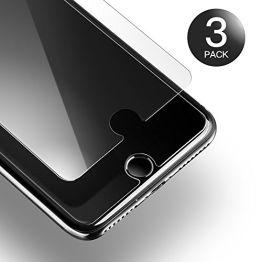 [3 Stück] Panzerglas iPhone 7 8, AXHKIO Ultra-klar 9H Härte Panzerglasfolie für iPhone 7/ iPhone 8 (4,7 Zoll) - 0,25mm, Anti-Öl, Anti-Kratzen, Anti-Bläschen, 3D Touch Kompatibel - 1