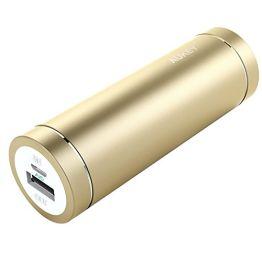 Aukey pb-n37–5000mAh Mini Tragbares Ladegerät, goldfarben - 1