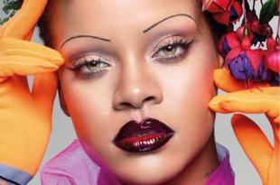 Рианна украсила обложку британского Vogue