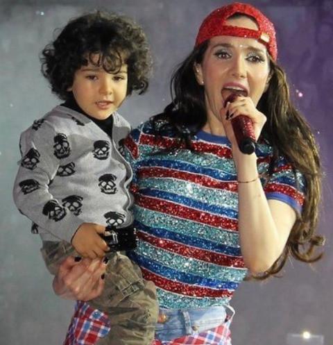 Наталья орейро фото сейчас с сыном